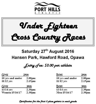U18 Races